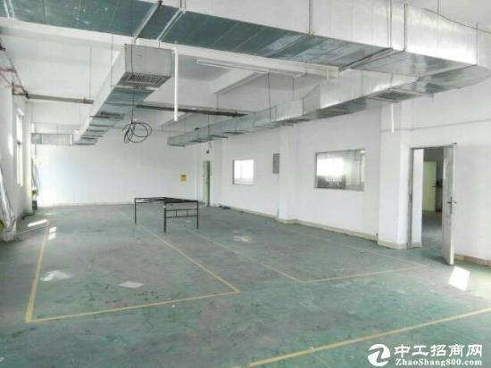 东莞厚街体育公园旁新空出一楼2140米带办公室装修厂