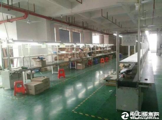 东莞厚街陈屋村独院双层2380平方米独院厂房出租