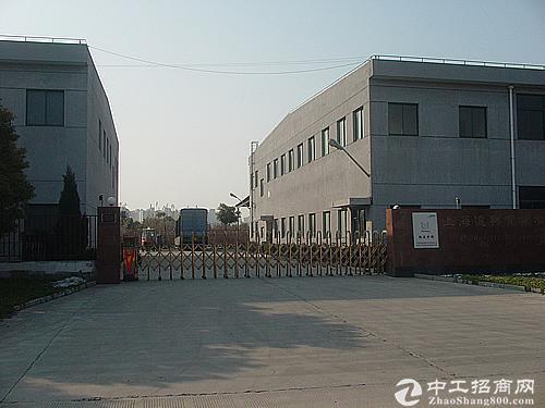 松江练塘工业区30亩12000平厂房形象好104