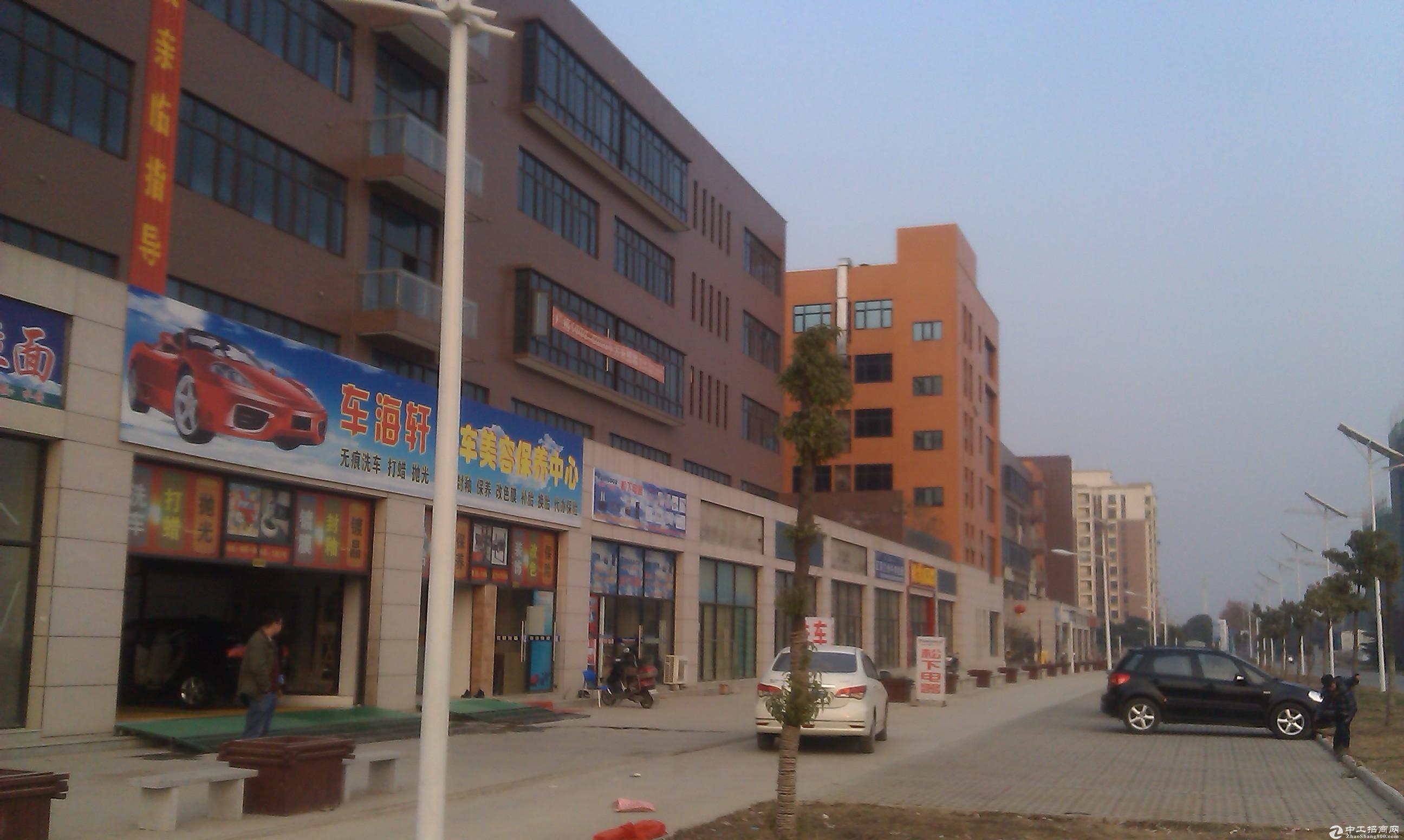 武汉市东西湖区5523平方米独栋标准工业厂房出售(可分割)