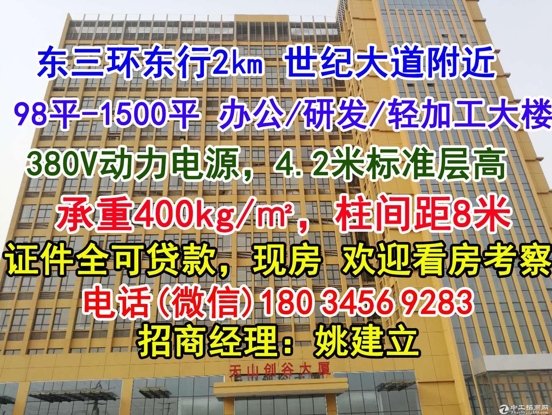 东三环附件+现房办公研发楼+均价4700元+可贷款分期-图2