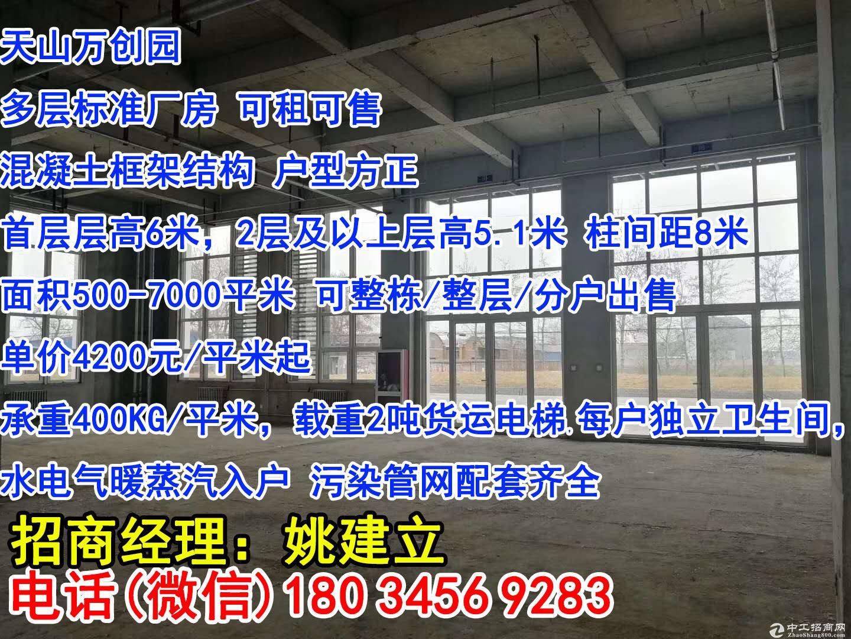 石家庄栾城西环旁+园区标准厂房+500平出租出售