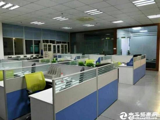 东莞厚街附近新出厂房1-3层16000平出租,水电齐全.