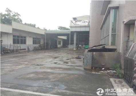 龙华单一层钢构厂房出租1500平,适合家私塑胶行业