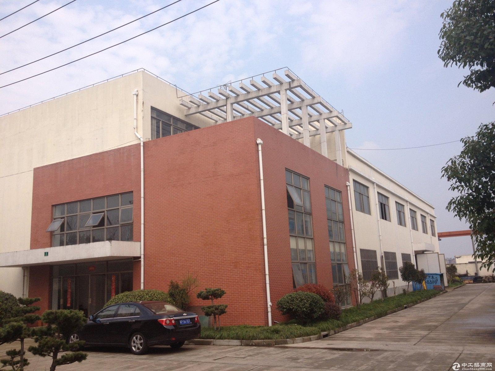 金山化工区独院10亩12米绿证50年小面积化工厂房出售可做化工