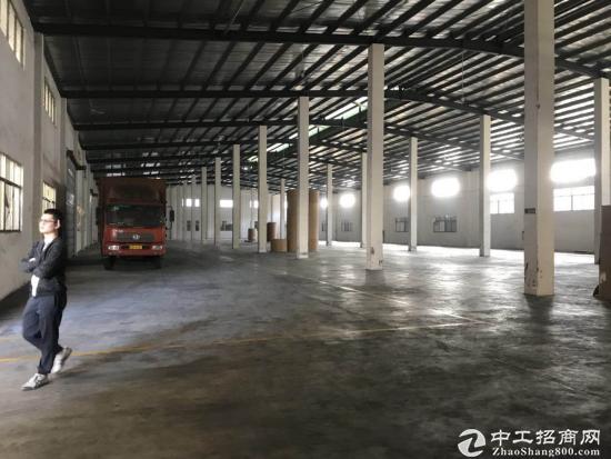 G107国道边单一层6000平米厂房滴水9米可分租