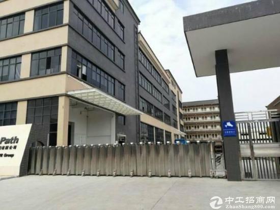 东莞南城标准厂房楼上4000平出租,可分租1200平起.