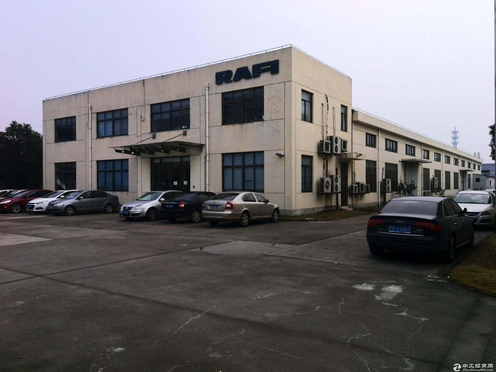 佘山脚下38亩工业用地104板块建筑13000平绿证诚意售