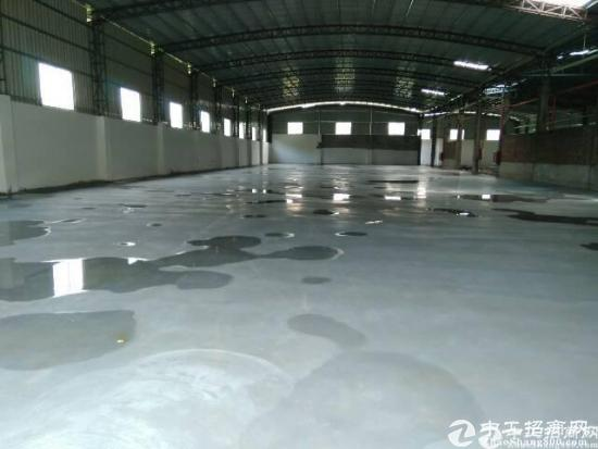 厚街镇工业园5000平钢构滴水7米高大小分租