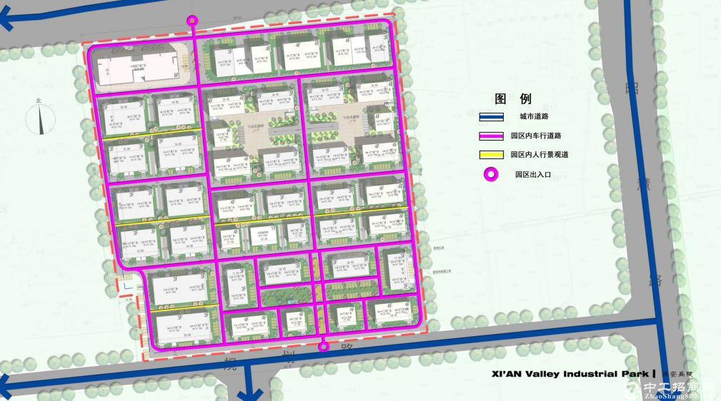 中南高科800-3600平米标准厂房高陵新区核心位置 可按揭3成首付-图4