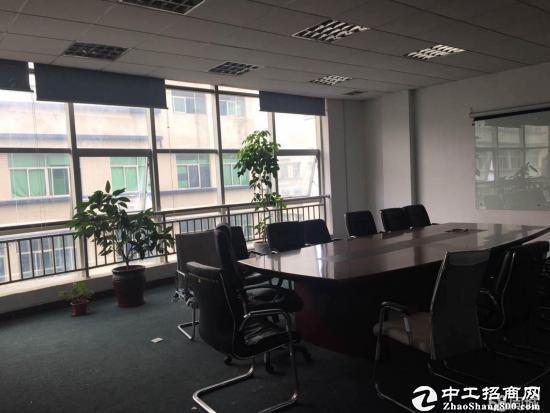东莞南城楼上带装修480平,地坪漆,精装修办公室
