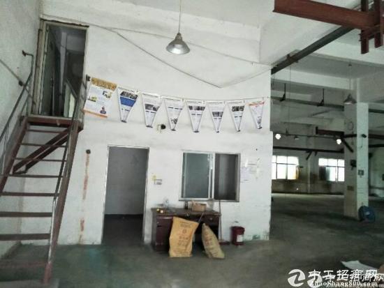 横岗地铁站附近厂房一楼650平方滴水6米厂房出租