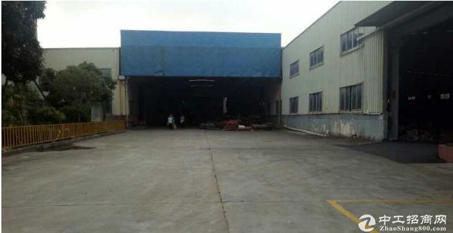 原房东107国道单一层钢构1500平厂房,带行车