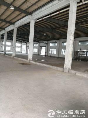 厚街竹溪滴水10米的钢构厂房2830平,原房东出租