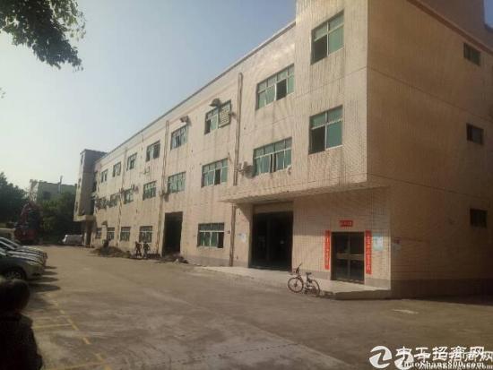 龙岗高速附近一楼整层1700平 0公摊厂房出