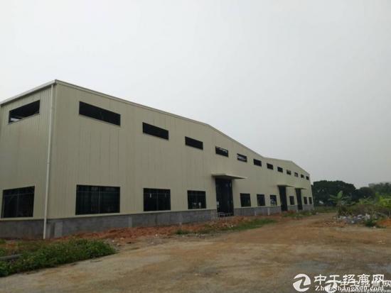 龙岗新建钢结构9米滴水厂房