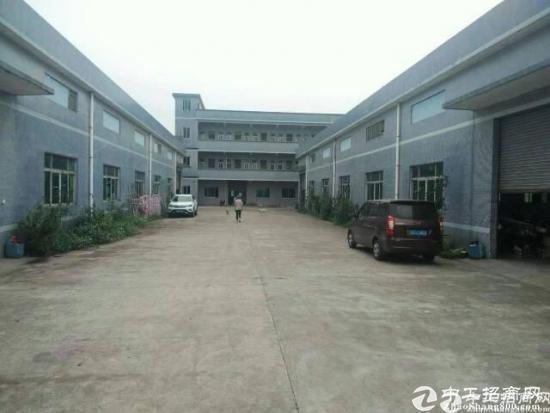 清溪镇三中单一层厂房5000平方招租可分租