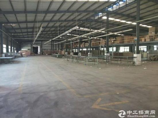 厚街镇新围单一层钢构厂房3600平方实量面积,急租价格优
