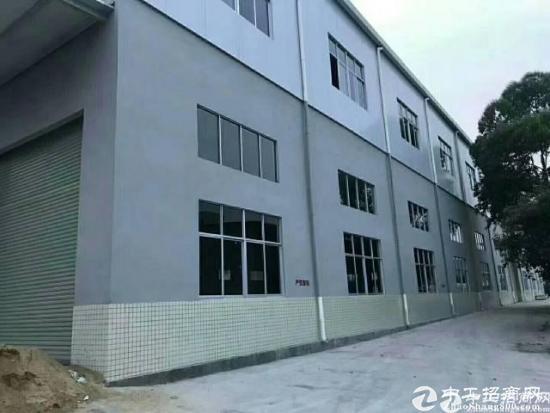 清溪村委厂房直租全新1-2层独幢厂房,厂房形象好面积6300平方