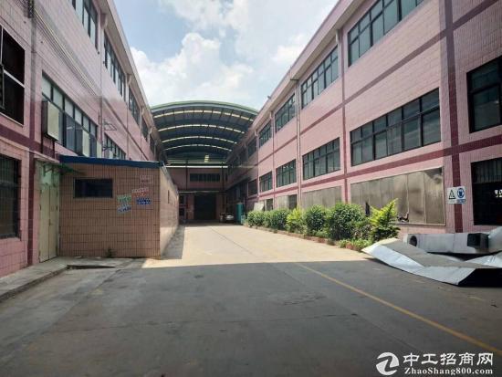 惠州秋长标准钢构厂房6000平方房东急租