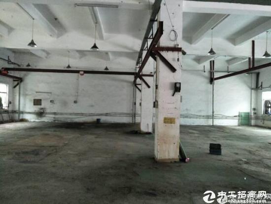 横岗地铁站附近厂房原房东一楼650平方滴水6米厂房出租