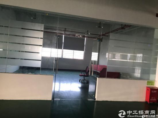 厚街豪华装修厂房二楼730平米14块招租,独立办公区