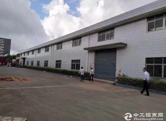 公明塘尾工业园区独栋钢构出租4350平出租