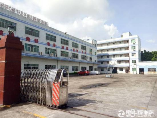 龙岗龙东社区新出一楼厂房出租550平米,空地大