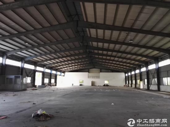 坪山深汕路边钢构厂房400平米租6400元有装修