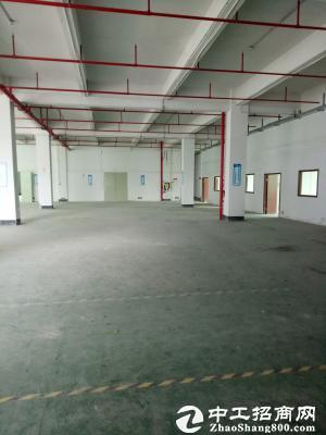 一楼面积1060平标准厂房带喷淋,地坪漆优惠招商