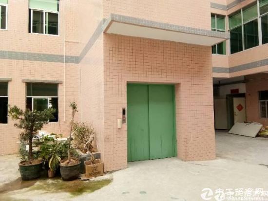 厚街东环路旁楼上470平米厂房带2吨标准电梯出租,11块