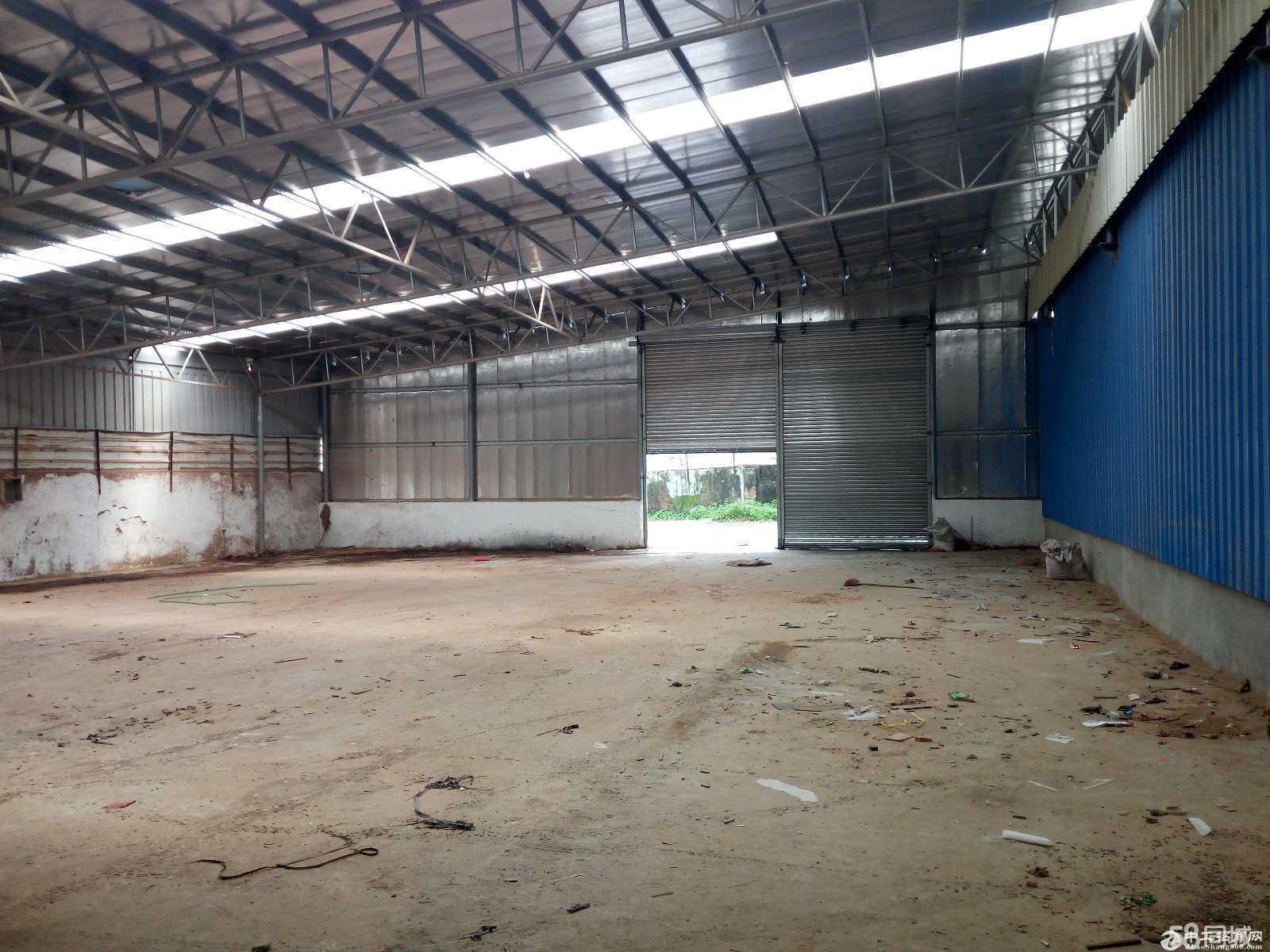 出租港口大南一楼厂房 仓库有300方的院子厂600方马路宽大-图2