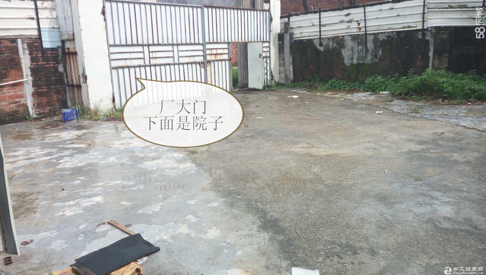 出租港口大南一楼厂房 仓库有300方的院子厂600方马路宽大-图5