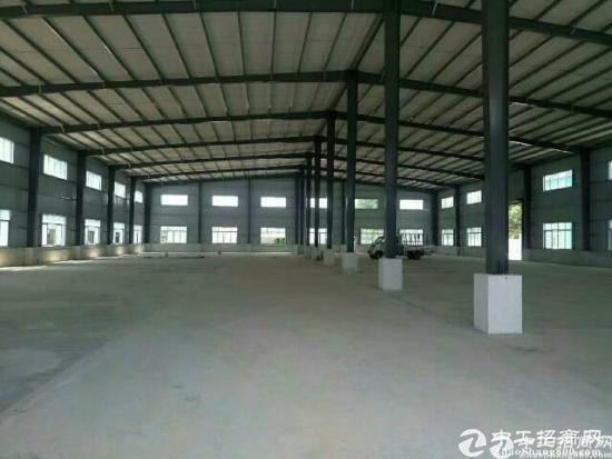 清溪镇高速出口处独院单一层厂房5200平方招租