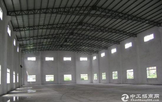 沙田新出独门独院砖墙到顶单一层厂房,总面积2600平方,滴水7米