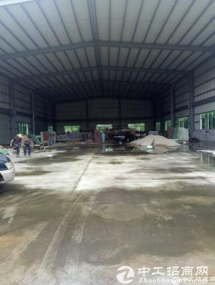 坪山新出原房东钢构厂房1280平带行车,滴水8米