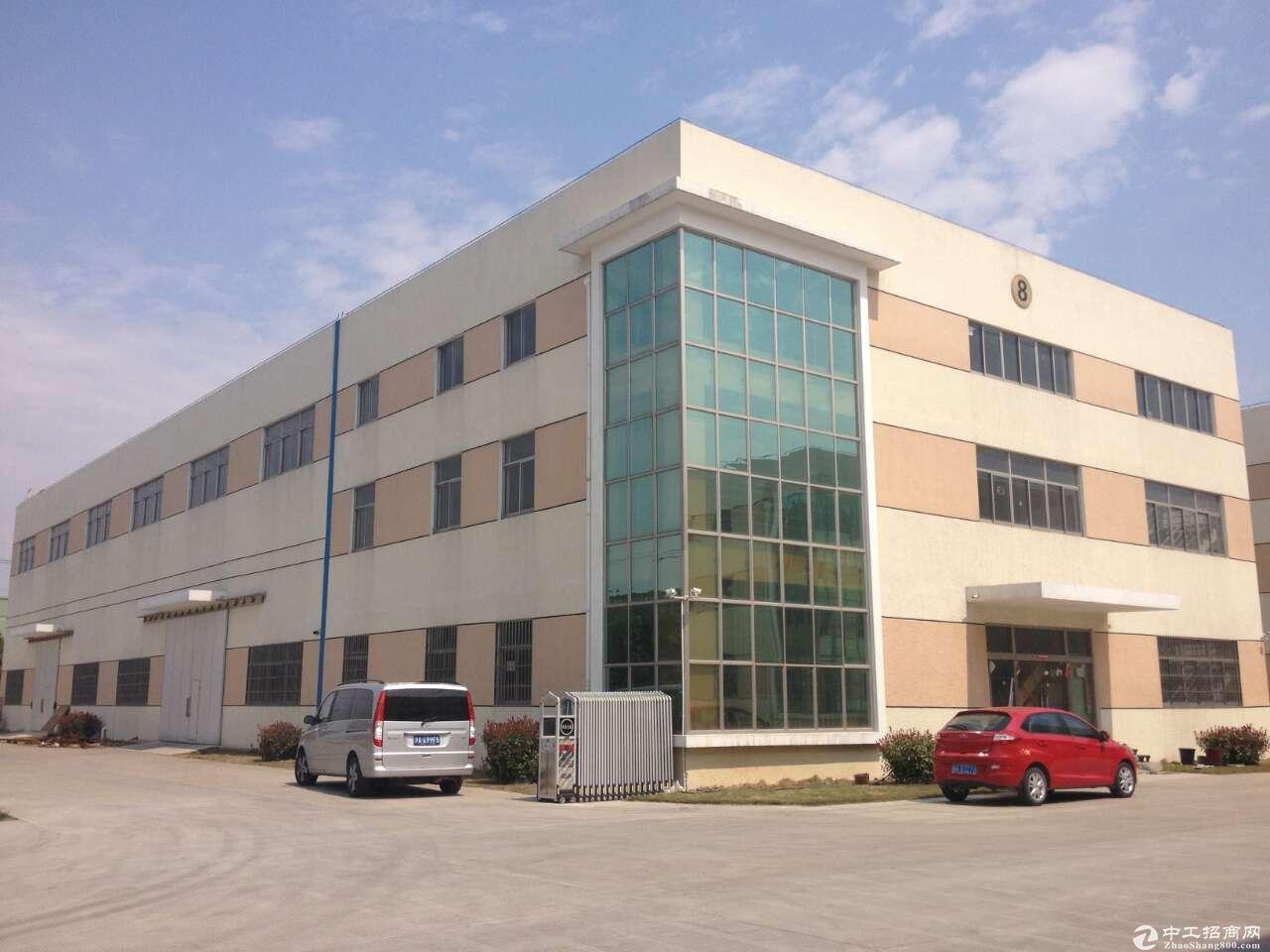 金山枫泾25亩7000平方单层11米机械厂房带办公形象大气总部