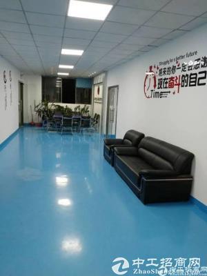 临近107国道厂房位于松岗东方社楼上1500平自带无尘车间