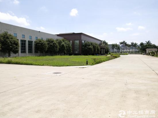 清溪高大上花园式标准单一层独院厂房19370平方招租