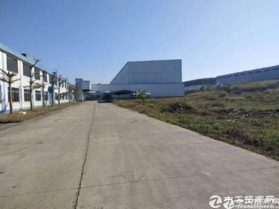 惠州秋长新出红本50400钢构厂房出租