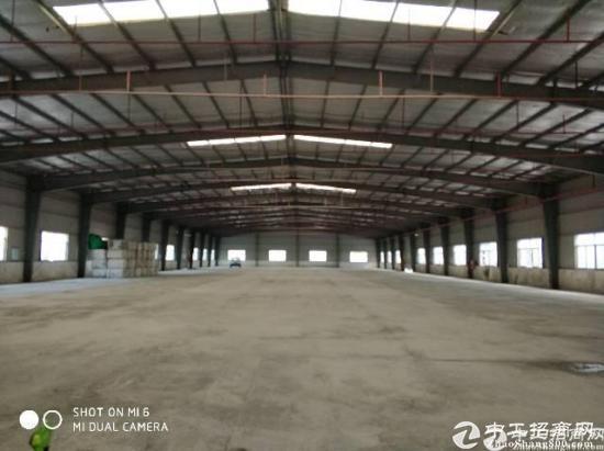 南城科技园6米高钢构厂房,带喷淋,中间无柱子