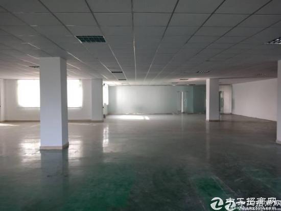 龙岗同乐新出二楼1200平带装修厂房出租