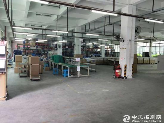 沙田新出分租标准厂房面积850平,滴水7.5米,带消防喷淋