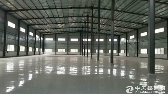 新出独门独院9米钢构厂房,原房东低价出租