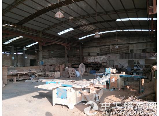 茶山镇单一层独院厂房3500平方米,低价出租