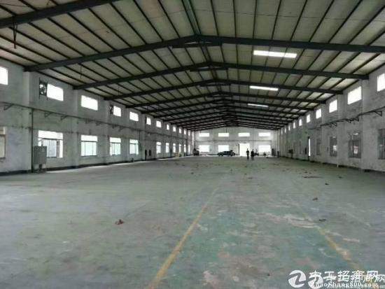 坪山独院钢构厂房出租5000平 空地超大
