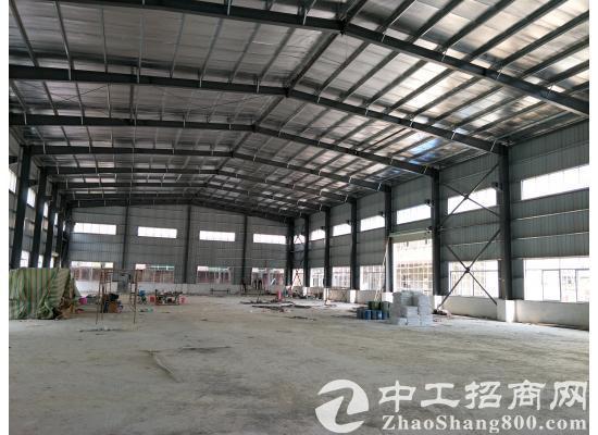 茶山镇单一层钢结构独院厂房2100平方米,全新出租