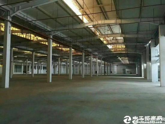 厚街靠东城附近主通道旁7500平独院钢构仓库厂房可分租