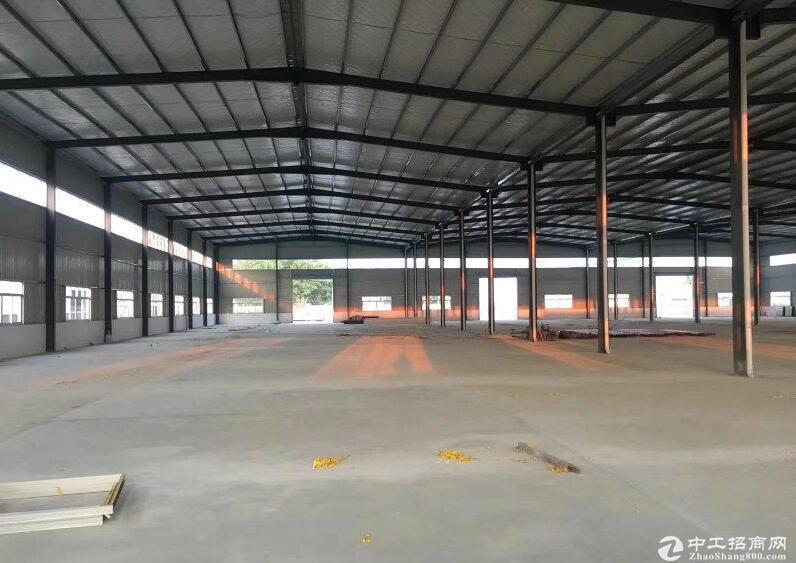 小微产业园标准新建钢结构5000平,交通非常便利