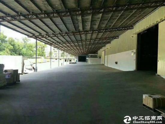 原房东独院6800平物流仓库带卸货平台出租